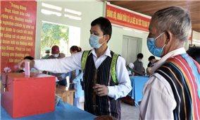 Quảng Nam: Rộn ràng ngày bầu cử sớm tại một số xã vùng cao biên giới