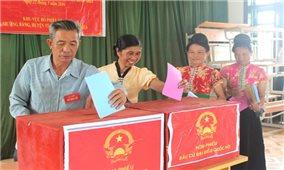 Lá phiếu với người vùng cao Điện Biên