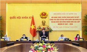 Chủ tịch Quốc hội chủ trì Hội nghị trực tuyến toàn quốc triển khai công tác bầu cử