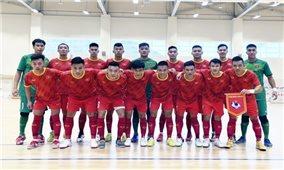 Đội tuyển Futsal Việt Nam đánh bại Iraq trong trận giao hữu