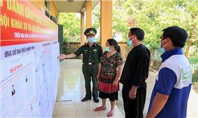 Xuất hiện các ổ dịch, Điện Biên thay đổi nhiều phương án bảo đảm an toàn bầu cử