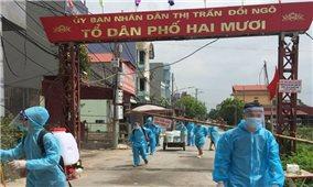 Bắc Giang: Dồn lực khoanh vùng, dập dịch
