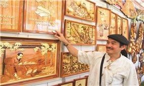 Ngô Hữu Dũng với những tác phẩm nghệ thuật về Bác Hồ