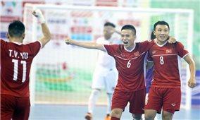 Đội tuyển Futsal Việt Nam tranh vé play-off World Cup: Tất cả đã sẵn sàng