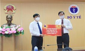 Tập đoàn Vingroup trao tặng Bộ Y tế 4 triệu liều Vaccine phòng ngừa dịch COVID-19