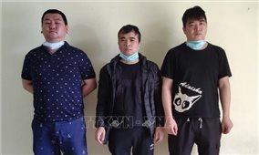 Phát hiện 3 công dân nước ngoài tìm đường xuất cảnh trái phép