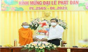 Đảm bảo an toàn phòng chống dịch Covid-19 trong Đại lễ Phật Đản