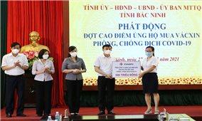 Tổng công ty điện lực miền Bắc ủng hộ 1 tỷ đồng chung tay cùng Bắc Giang Bắc Ninh chống dịch Covid19