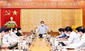 Thủ tướng Phạm Minh Chính: Kịp thời tháo gỡ khó khăn cho tỉnh Bắc Giang trên tinh thần