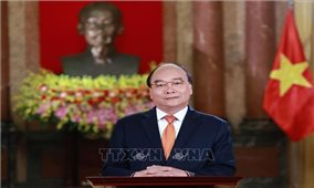 Chủ tịch nước Nguyễn Xuân Phúc gửi thư đến Tổng thống Hoa Kỳ Joe Biden