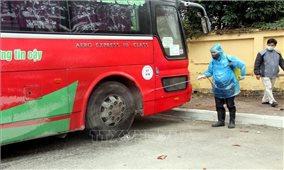 Nhiều địa phương dừng hoạt động vận tải hành khách đến địa phương có ca nhiễm Covid-19