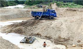 Khánh Vĩnh (Khánh Hòa): Sự lộng hành của cát tặc liệu có thế lực nào che chắn?