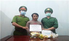 Bộ đội Biên phòng Kon Tum: Bắt giữ đối tượng vận chuyển 2kg ma túy tổng hợp