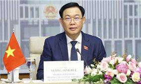 Chủ tịch Quốc hội Vương Đình Huệ hội đàm trực tuyến với Chủ tịch Hội đồng Lập pháp, Chủ tịch AIPA 42