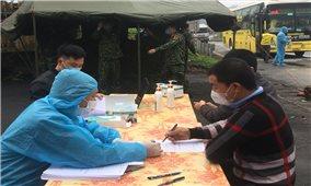 Các tỉnh Lào Cai và Lai Châu: Tăng cường kiểm soát người đến và về từ vùng dịch