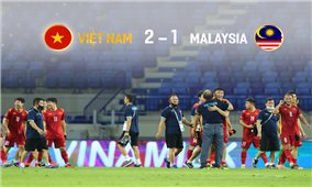 Tinh thần thi đấu và thể lực bển bỉ của đội tuyển Việt Nam, sẵn sàng tranh ngôi đầu bảng ở trận cuối