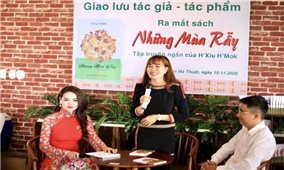 H'Xíu H'Mok - nhà văn, nhà báo trẻ nhiều triển vọng