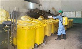 Rác thải tại các khu cách ly cần được xử lý cẩn trọng