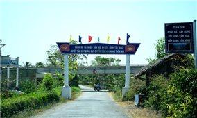 Cà Mau: Các xã bãi ngang ven biển nỗ lực giữ vững tiêu chí nông thôn mới