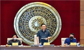 Chủ tịch Quốc hội Vương Đình Huệ: Chú trọng xây dựng hệ thống pháp luật phục vụ kiến tạo phát triển và hội nhập