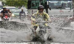 Bắc Bộ và Bắc Trung Bộ chuẩn bị đón mưa dông, đề phòng ngập úng
