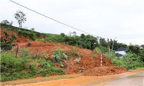 Lai Châu: Mưa lớn gây ngập úng, sạt lở nhiều tuyến đường