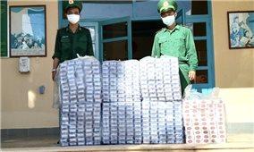 BĐBP Kiên Giang liên tiếp bắt giữ nhiều vụ buôn lậu thuốc lá qua biên giới