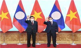 Việt Nam - Lào nhất trí thúc đẩy triển khai sớm các dự án kết nối giao thông chiến lược