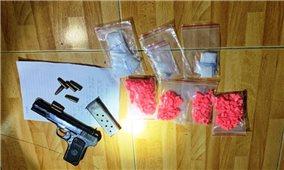 Thanh Hóa phá án tàng trữ súng, mua, bán ma túy