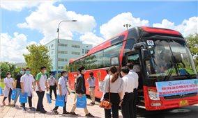 47 cán bộ, sinh viên trường Đại học Y Dược Cần Thơ tình nguyện hỗ trợ Đồng Tháp chống dịch