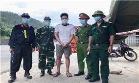 Quảng Ngãi: Lực lượng chức năng bắt giữ đối tượng vượt chốt kiểm dịch mua ma tuý