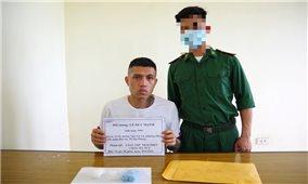 Bắt đối tượng tàng trữ trái phép ma túy tổng hợp tại khu du lịch biển Quất Lâm