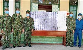 Giang Thành (Kiên Giang): Liên tiếp bắt giữ nhiều vụ vận chuyển trái phép thuốc lá ngoại qua biên giới huyện