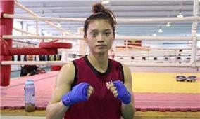 Võ sĩ boxing Nguyễn Thị Tâm giành vé dự Olympic Tokyo 2021