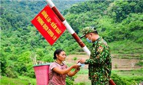 Điện Biên: Quân, dân chung sức phòng chống đại dịch