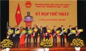 Cao Bằng có Chủ tịch Hội đồng nhân dân tỉnh khóa mới