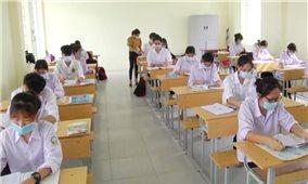 Có 97,28% thí sinh đến làm thủ tục dự thi tốt nghiệp THPT