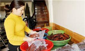 Đặc sản thịt trâu gác bếp Sơn La