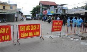 Từ 0 giờ ngày 8/7, giãn cách xã hội một số địa phương của tỉnh Quảng Ngãi