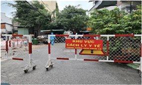 Quận 7 (TP. Hồ Chí Minh): Từ 18 giờ ngày 8/7 áp dụng Chỉ thị 16 với một số phường