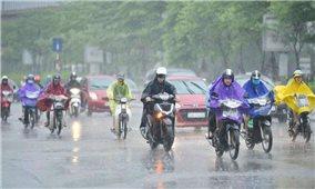 Thời tiết ngày 8/7: Bắc Bộ và Bắc Trung Bộ có mưa to