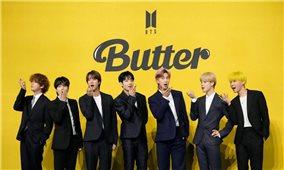 BTS tiếp tục lập lục với ca khúc
