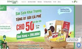 Đồng Tháp: Ra mắt website bán nông sản và đặc sản đầu tiên