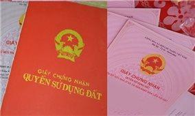 Bộ Tài nguyên và Môi trường đề nghị sổ đỏ ghi tên cả vợ và chồng