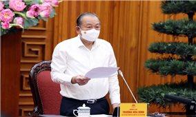 Phó Thủ tướng Thường trực Trương Hoà Bình chủ trì họp Hội đồng Tư vấn đặc xá Trung ương
