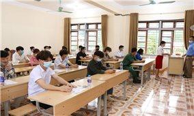 Công tác chấm thi tốt nghiệp THPT: Khách quan, công bằng đi đôi với an toàn phòng chống dịch