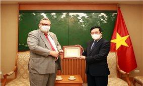 Việt Nam đề nghị Phần Lan sớm phê chuẩn Hiệp định EVIPA