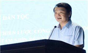 Họp Ban Chỉ đạo xây dựng Chiến lược công tác dân tộc giai đoạn 2021 - 2030, tầm nhìn đến năm 2045