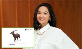 Hoa hậu H'Hen Niê kêu gọi bảo vệ động vật quý hiếm