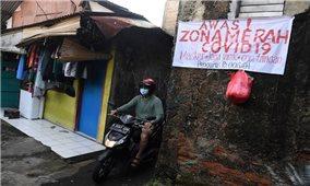 Indonesia tiếp tục ghi nhận số ca mắc mới COVID-19 cao nhất thế giới